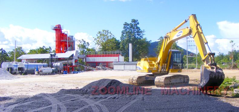 ZAP-S120 Asphalt Plant in Thailand
