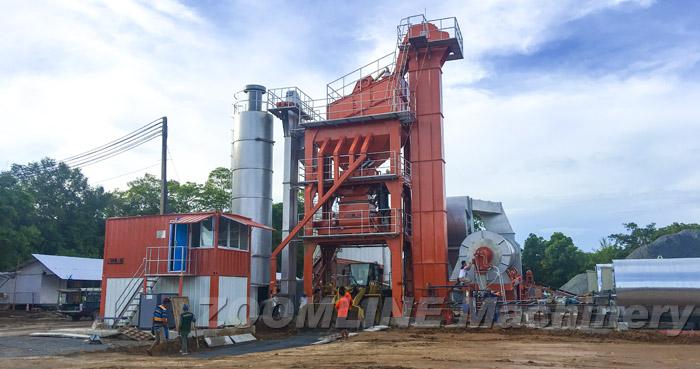 ZAP-S120 Asphalt Mixing Plant In Thailand