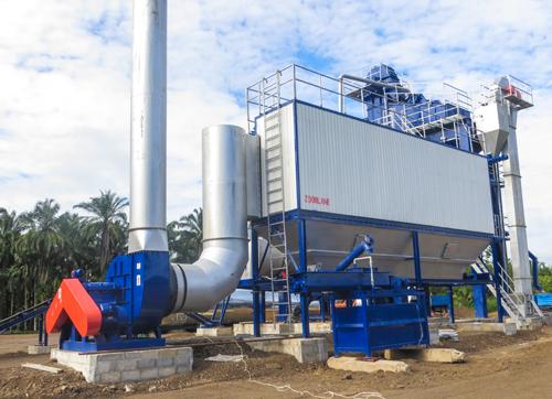 Bag house Dust Collecting System of ZOOMLINE asphalt plant