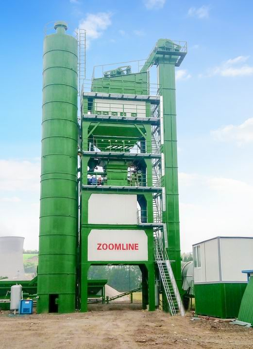 200TPH Batch Asphalt Mixing Plant