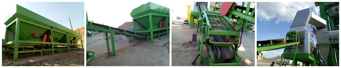 ZAP-S120 Stationary batch asphalt mixing plant in Russia