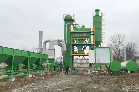 ZAP-S60 Asphalt Mixing Plant In Georgia