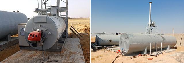 ZAP-S160 Asphalt Mixing Plant In Egypt