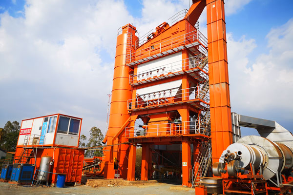 ZAP-S320 Asphalt Mixing Plant In Cambodian