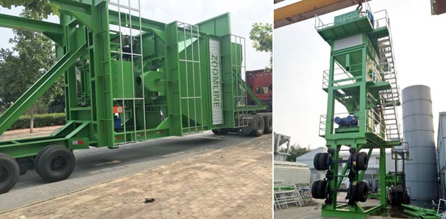 Mobile Mixing Tower
