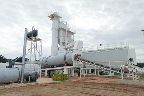 ZAP-S160 Asphalt Mixing Plant In Thailand