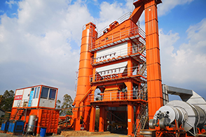 ZAP-S320 Asphalt Mixing Plant In Cambodian