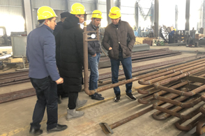 Uzbekistan customers visited ZOOMLINE Machinery