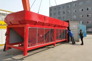 120t/h Asphalt mixing plant delivery to Uzbekistan