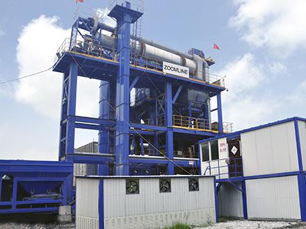 Asphalt recycling plant 01