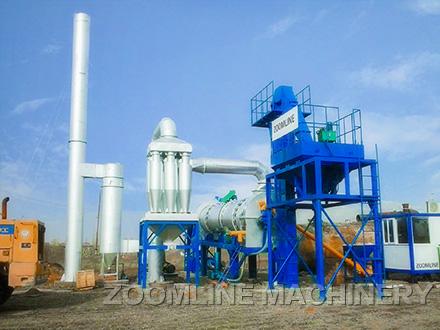 ZOOMLINE Drum Mix Asphalt Plant 01