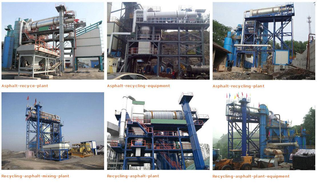 Recycling Asphalt Plant