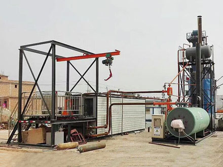 Bitumen Melting Machine