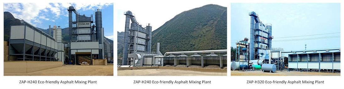 Eco-friendly Asphalt Mixing Plant